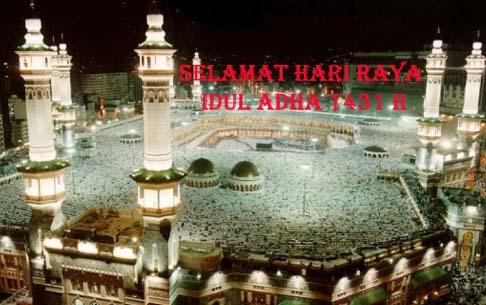 Selamat Hari Raya Idul Adha 1431 H Tuesday, November 16, 2010