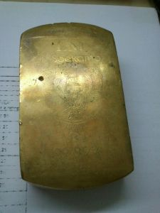 emas batangan palsu