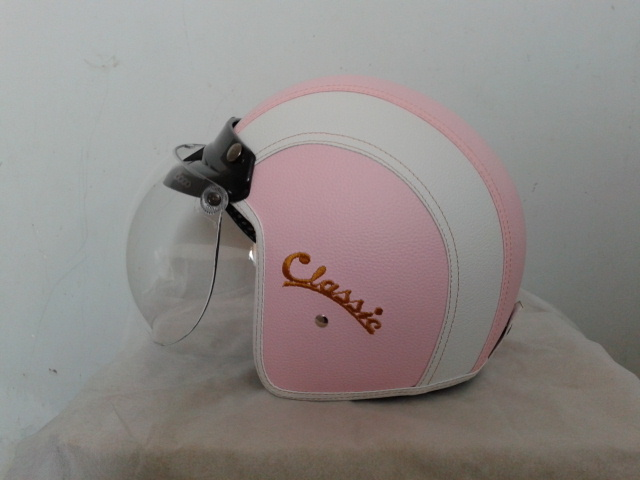 Helm BOGO Kulit Ready Stock