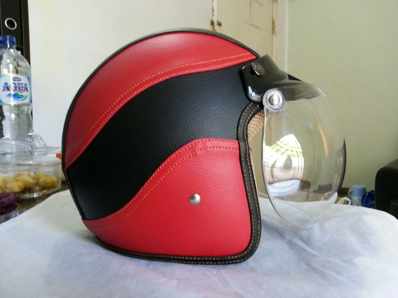 Next Model Dan Warna Baru Helm Bogo Kulit Firman