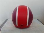 helm bogo merah ungu