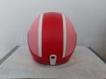 helm bogo merah pink