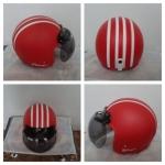 helm bogo merah putih