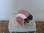 helm retro pink