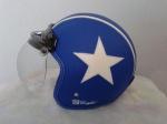 helm bogo biru bintang oldskool