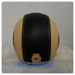 helm bogo hitam cream